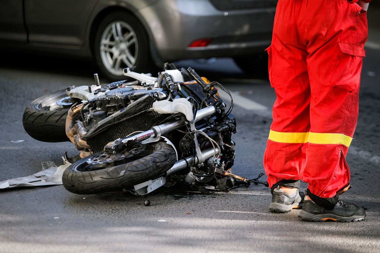 after a motorcycle accident
