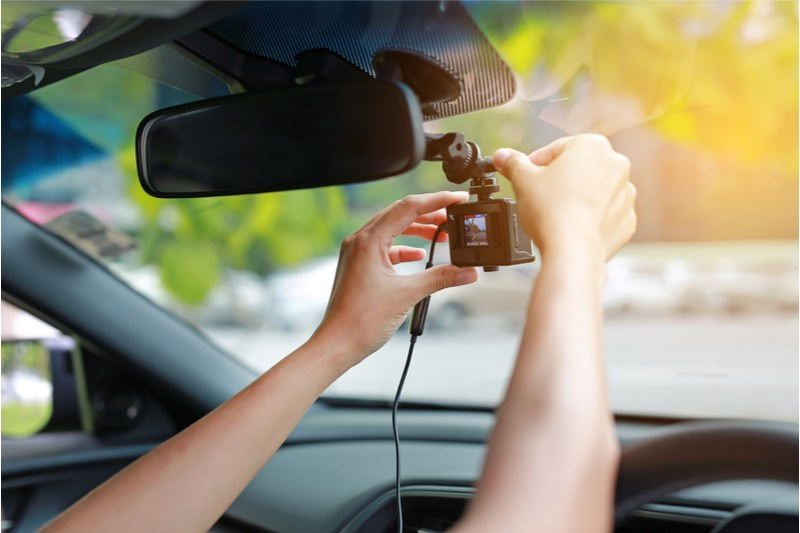 car dash cam used for personal injury claims